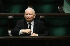 Jarosław Kaczyński żąda od Ryszarda Petru usunięcia wpisu z Twittera.
