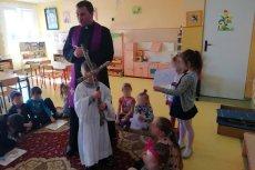Parafia Chełmża zorganizowała drogę krzyżową w przedszkolu