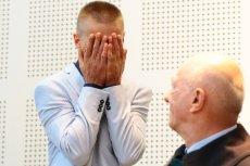 Tomasz Komenda został w środę uniewinniony. Podczas konferencji prasowej zwrócił się do jednego dziennikarza.