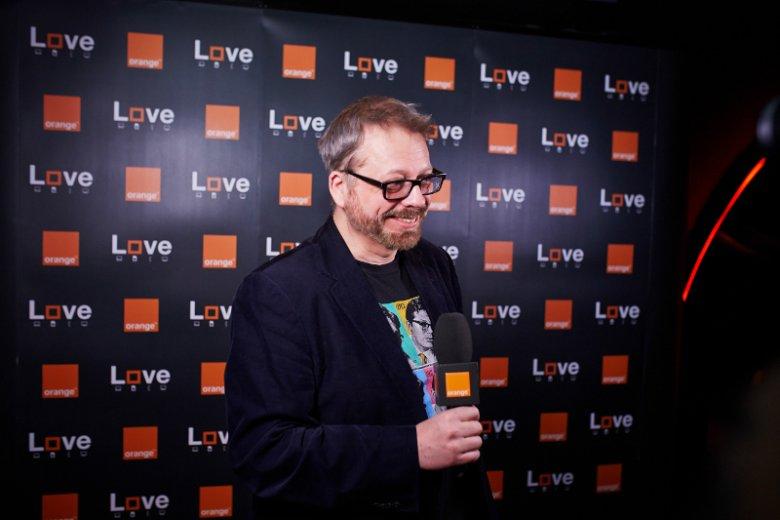 Tomasz Raczek był jednym z gości zaproszonych na inaugurację kampanii Orange Love