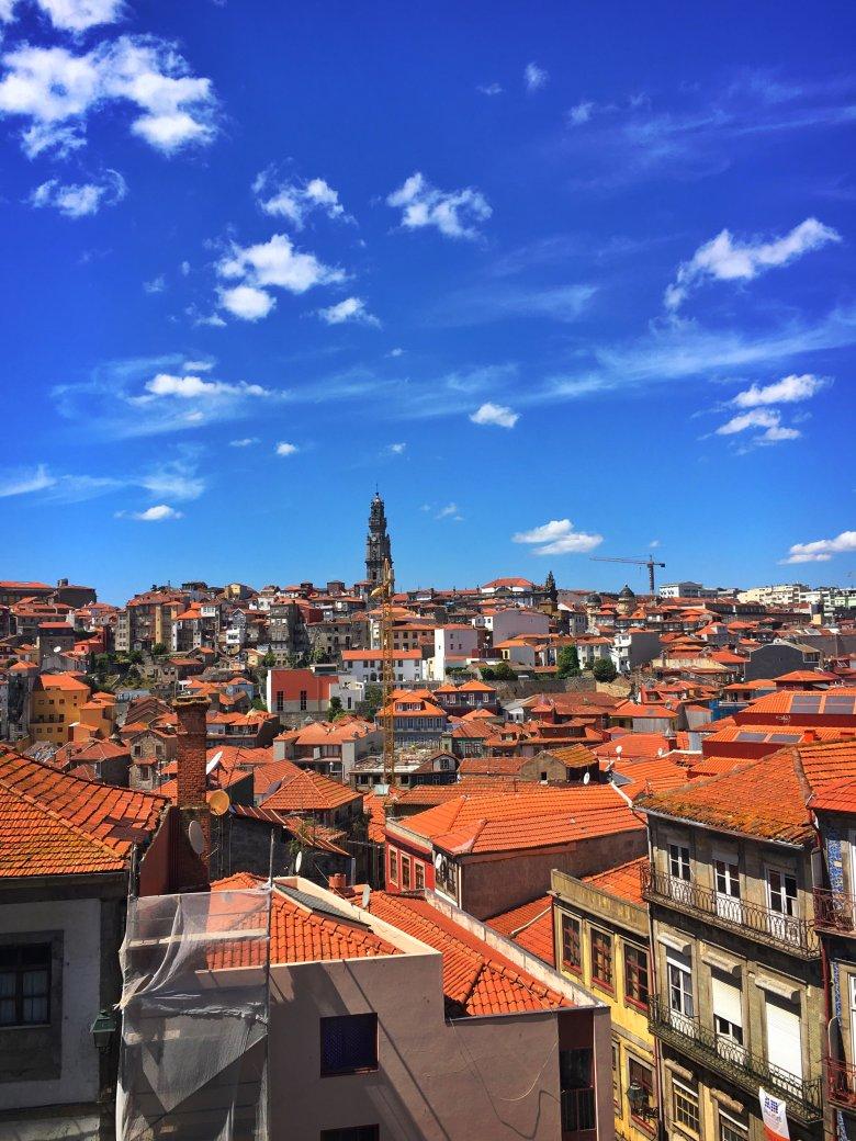 Panorama Porto/Portugalia. Fot. Damian Maliszewski