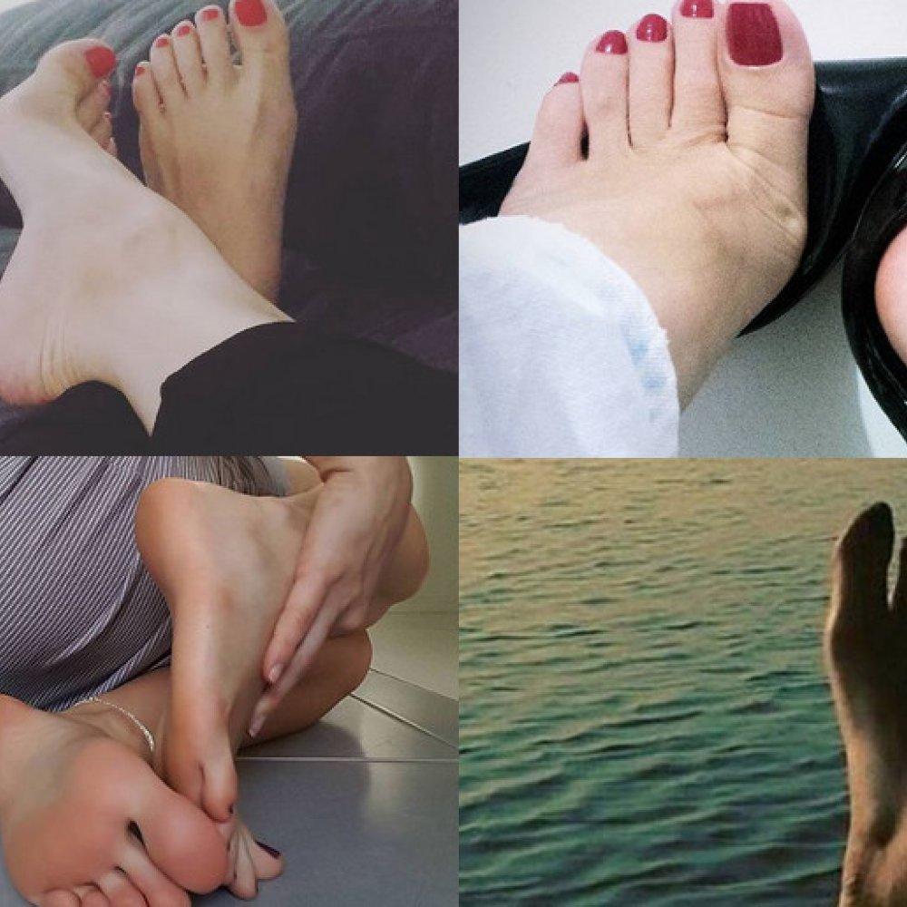 gwiazdy porno z fetyszem stóp ładne zdjęcia heban cipki