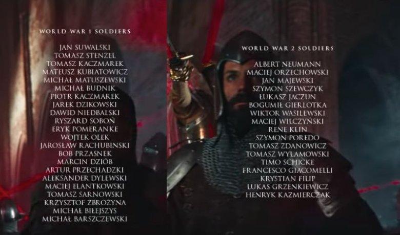 Żołnierzy I i II WŚ zagrali polscy aktorzy