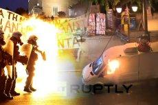 W środowy wieczór Ateny ogarnęły zamieszki sfrustrowanego tłumu.