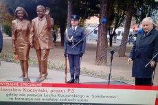 """""""Mamy tu pomnik, który jest arcydziełem"""". Do Białej Podlaskiej przyjechał prezes i pół rządu"""