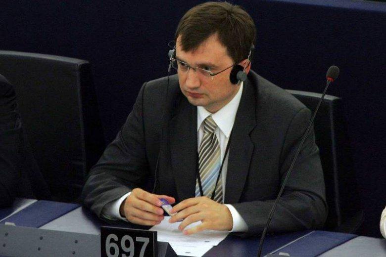 Zbigniew Ziobro w Parlamencie Europejskim