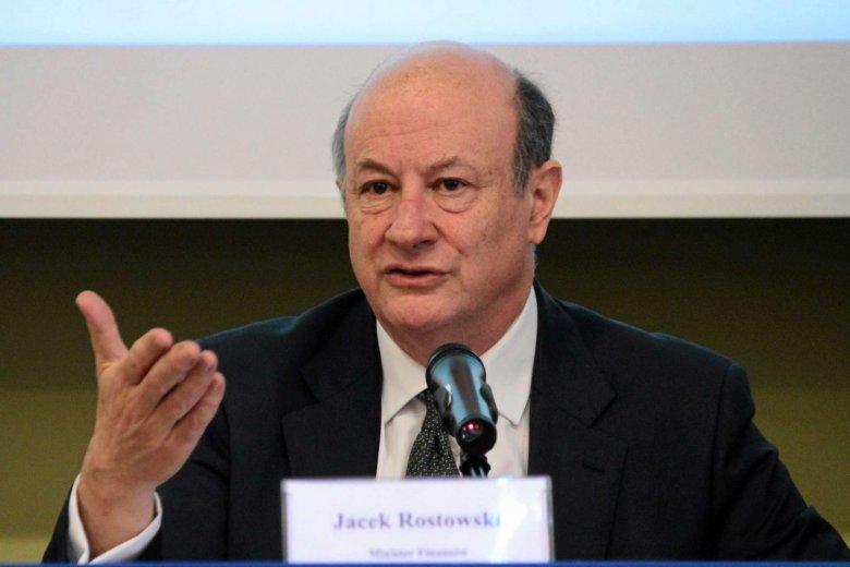 Minister finansów Jacek Rostowski stał się jedną z najpotężniejszych osób na świecie?