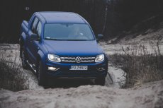Volkswagen Amarok to pickup sprawny w terenie i... błyskawiczny na asfalcie.