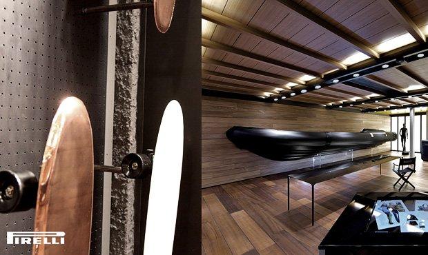Pirelli long–boards/Zieta Prozessdesign, Oskar Zięta