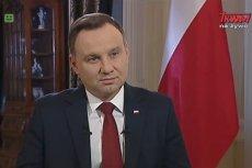 Andrzej Duda tłumaczył, dlaczego jego zdaniem trzeba zmienić konstytucję.