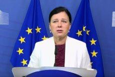 """Věra Jourová prawdopodobnie zastąpi Fransa Timmermansa i teraz to ona będzie krytykować rządy """"dobrej zmiany""""."""