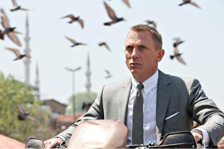 """Daniel Craig jako James Bond w filmie """"Skyfall"""""""