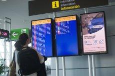 Prawie 200 polskich turystów utknęło hiszpańskiej wyspie. Na zdjęciu lotnisko na Majorce.