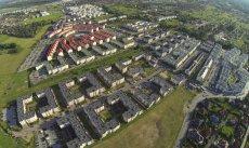 Warszawska Białołęka to jedno z większych nowych osiedli.