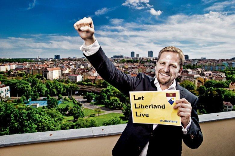 Prezydent Liberlandu - Vít Jedlička