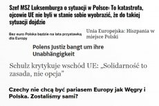 Wystarczy rzucić okiem na najnowsze nagłówki artykułów dotyczących sytuacji geopolitycznej Polski, by zacząć się obawiać o europejską przyszłość tego państwa.