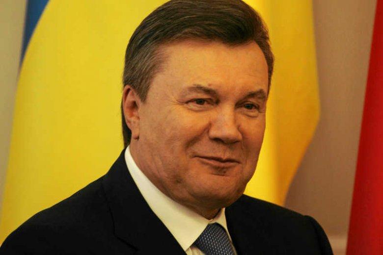 """Wiktor Janukowycz chce negocjować z Władimirem Putinem """"odzyskanie Krymu"""""""
