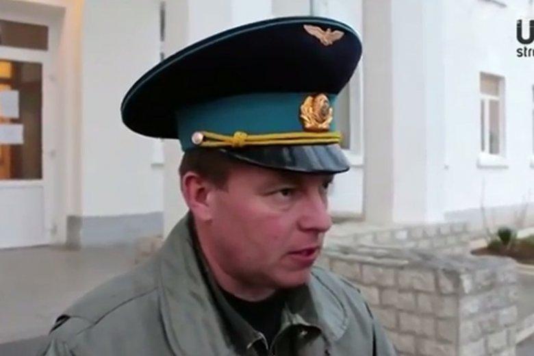 """Nowy bohater narodowy Ukrainy, pułkownik Julij Mamczur. Nazywany """"człowiekiem, który postawił się Rosjanom"""""""