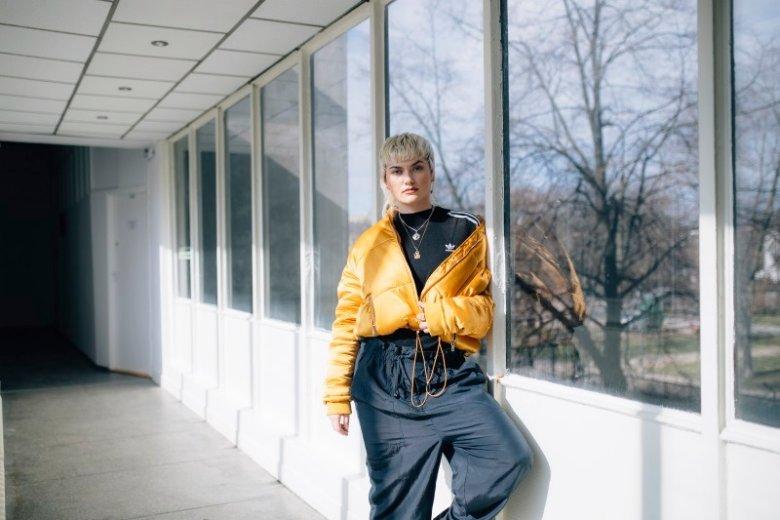 Ewelina Gralak, razem z wokalistką zespołu XXANAXX, wystąpiła w sesji marki Adidas Originals.