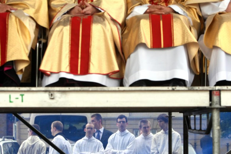 Wielu kleryków rezygnuje z seminarium.