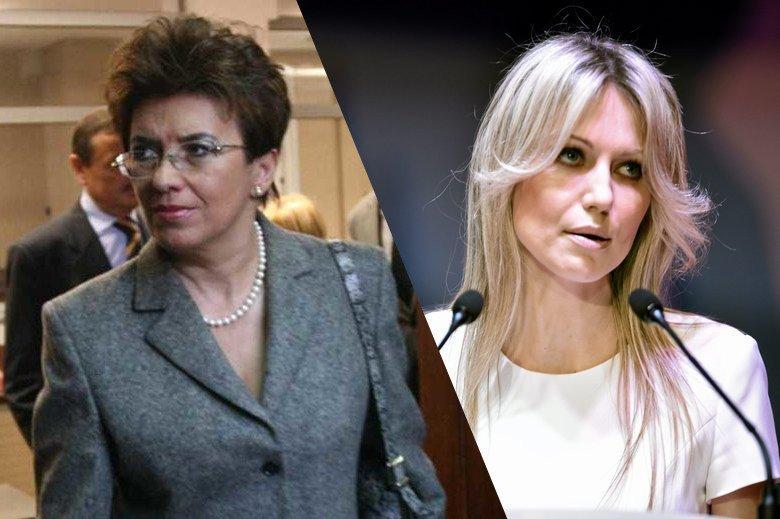 """Aleksandra Jakubowska i Magdalena Ogórek - obie były kiedyś blisko Leszka Millera, o obu mówiono """"lwice lewicy"""", dziś obie mają """"fuchę"""" na prawicy, w mediach sprzyjających partii rządzącej."""