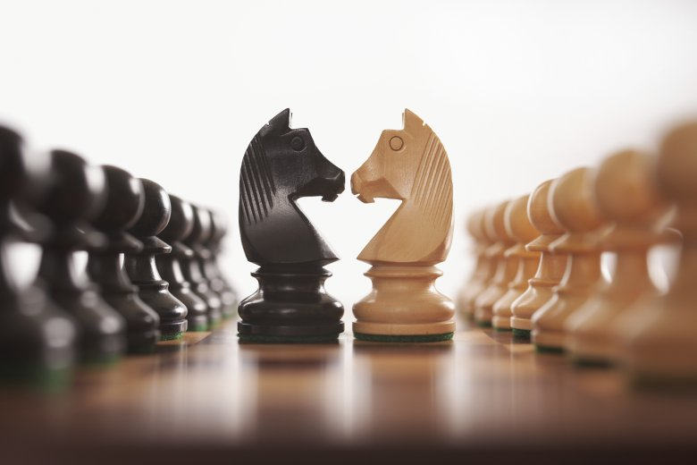 gra, szachy, pionki
