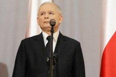 Prezes PiS Jarosław Kaczyński broni Cezarego Gmyza