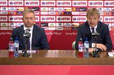 Pierwsza konferencja prasowa z udziałem nowego trenera reprezentacji Polski.