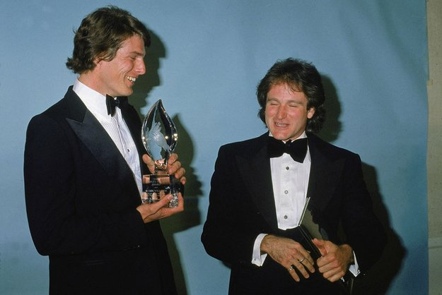 Christopher Reeve i Robin Williams