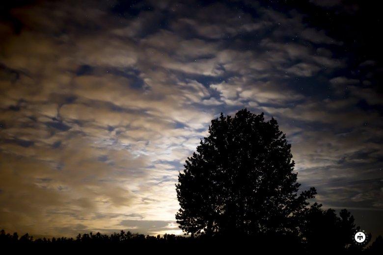 Przez chmury też widać gwiazdy