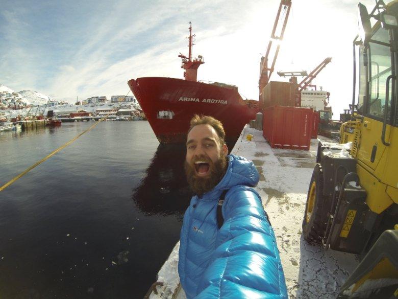Torbjørn C. Pedersen zrobił z podróżowania na kontenerowcach prawdziwą przygodę życia.