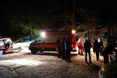 24-latek zmarł mimo podjętej próby resuscytacji.