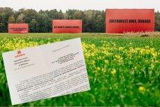 GDDKiA naprawdę chce usunąć trzy billboardy za Sieradzem. Wysłali nam pismo.