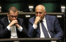 """Joachim Brudziński i Paweł Szefernaker są uważani za kadrowych """"nowego PiS"""""""
