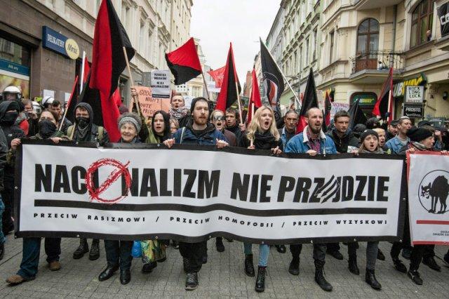 Demonstracja przeciwników nacjonalizmu, rasizmu i szowinizmu przeszła niedawno ulicami Poznania