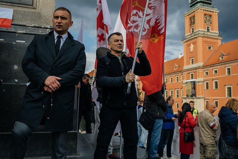 Narodowcy z kilkudziesięciu miast wzięli udział w marszu.