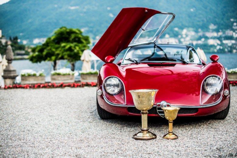 Zwycięska Alfa Romeo 33/2 Stradale
