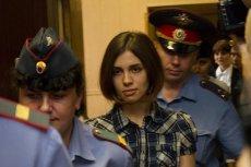 Członkini Pussy Riot w moskiewskim sądzie