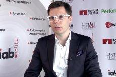 Jacek Świderski, prezes Wirtualnej Polski 16 lat temu zaczynał internetowy biznes od poczty elektronicznej