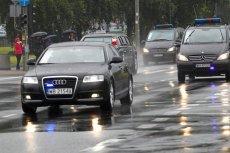 Wypadek w Pułtusku – limuzyna Kancelarii Prezydenta spowodowała kolizję