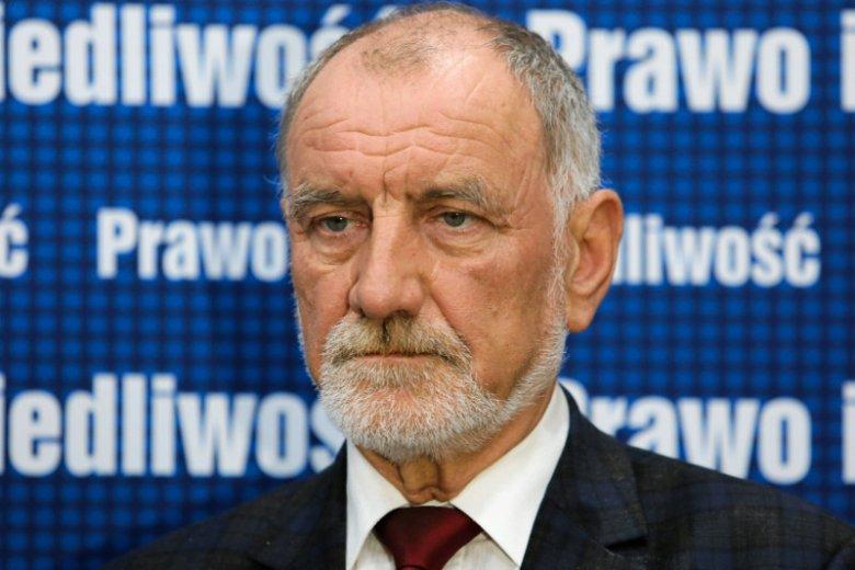 Prof. Jan Tadeusz Duda walczy w Krakowie o miejsce w Senacie.
