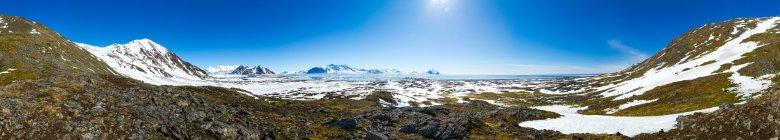 Widok na fiord Hornsund
