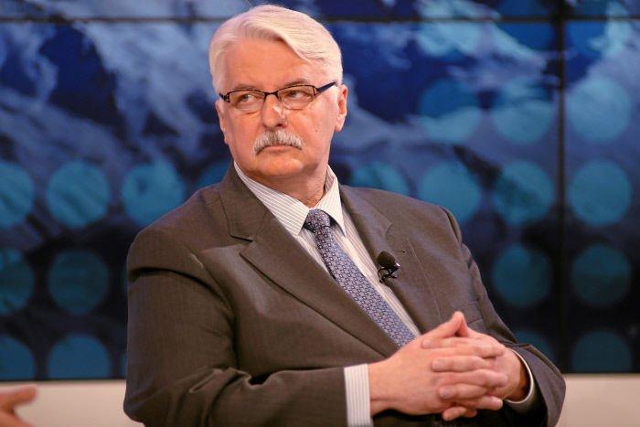 Minister Waszczykowski mówił, że sytuacja imigrantów nie jest tak tragiczna jak niektórzy twierdzą