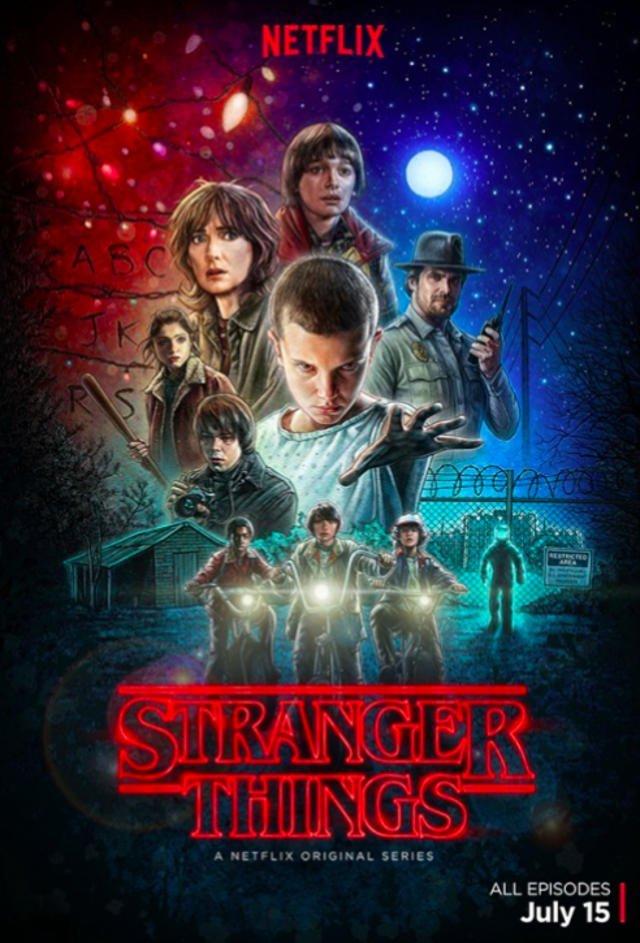 """Plakat promujący """"Stranger Things"""" jest lepszy niż sam serial."""