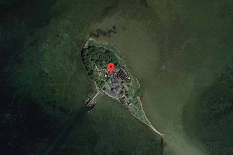 Wyspa Lindholm, na której duński rząd planuje umieścić niepożądanych imigrantów.