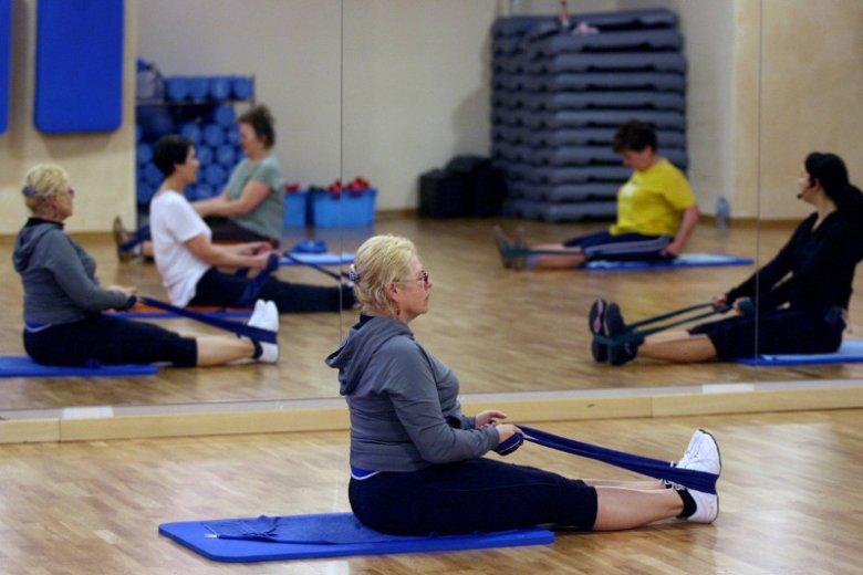 Ćwiczyć trzeba w każdym wieku.