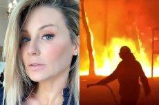 Małgorzata Rozenek zachęca do wspierania strażaków walczących z pożarami w Australii.