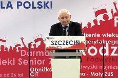 """Jarosław Kaczyński podczas konwencji PiS w Szczecinie zapowiedział stworzenie """"innej, nowej elity ekonomicznej"""" po wyborach."""