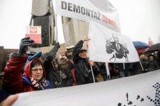 Jedna z demonstracji KOD w Gdańsku