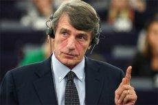 Czy nowy szef PE w swoim pierwszym przemówieniu nawiązał do Polski i Węgier?